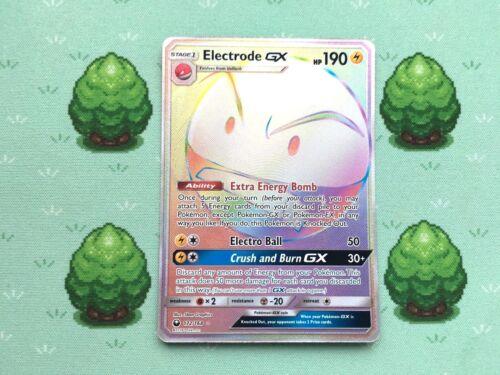Electrode GX SM Celestial Storm Secret Rare Pokemon 172//168