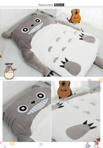 Huge-Comfortable-Totoro-Bed-Sleeping-Bag-Pad-Great-Mattress