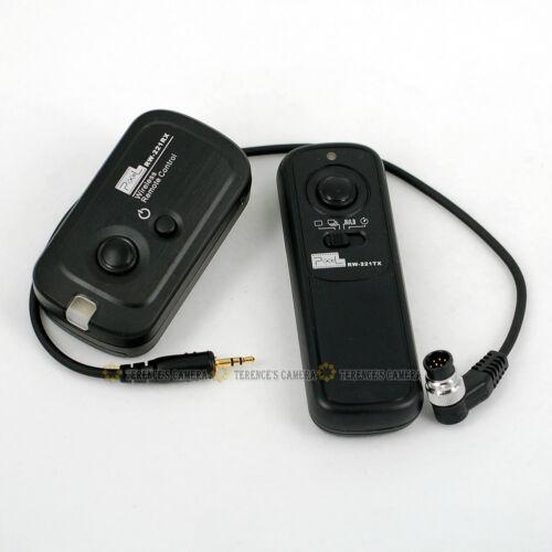 Disparador Inalámbrico RW-221 Cable de control remoto para Nikon DSLR D3 D3X D300s D4 D5 D500 D810