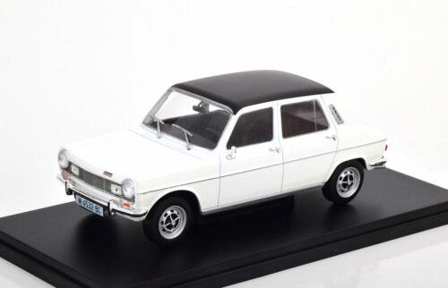 1:24 Fabbri Editori Simca 1200  Special 1973 white