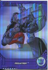 Transformers Optimum Generation 1 Foil Chase Card TF3 Megatron