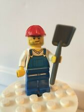 Figurine Minifig chantier construction worker rail cty555 60076 60098 NEW Lego