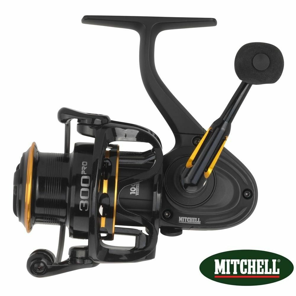 Mitchell  300 Pro Spinning & Bait Casting Carp Game Fishing Reel - 1428057  more affordable