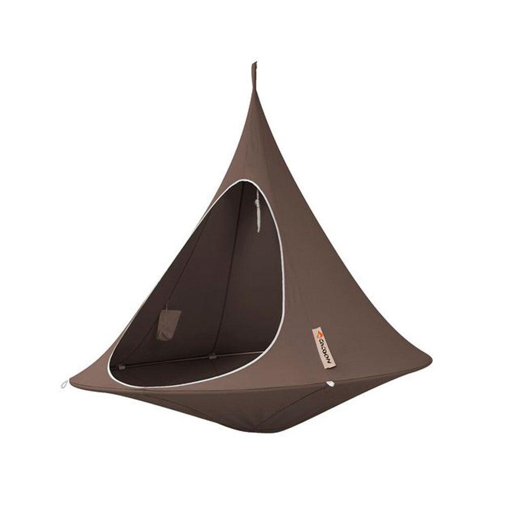 CACOON Double Taupe Hängezelt Hängehöhle Hängenest 180 cm Liegefläche (10714)