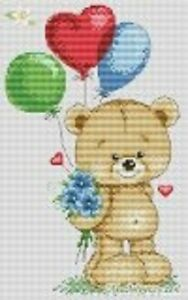 """14 Count Charted Cross Stitch Kit/""""Welcome/"""" 33x31cm"""