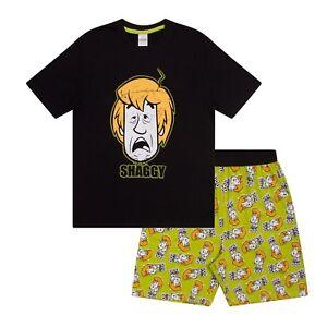 Scooby-Doo-Shaggy-Mystery-Machine-Official-Mens-Loungewear-Retro-Short-Pyjamas