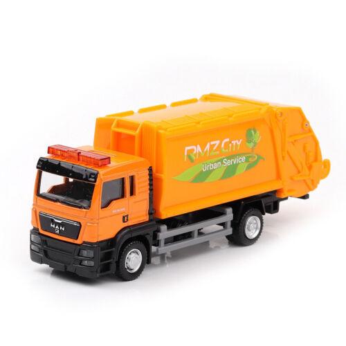 """6/"""" Man Spielzeug LKW Müllwagen Spielzeugauto Müllauto Lastwagen Sammlung"""