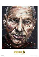 Star Trek Picard 50th Anniversary Tv Show Poster 13x19 on sale