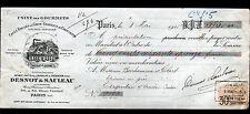 """PARIS (XV°) USINE des GOURMETS / CAFES & CHOCOLAT """"DESNOT & SAULEAU"""" en 1915"""
