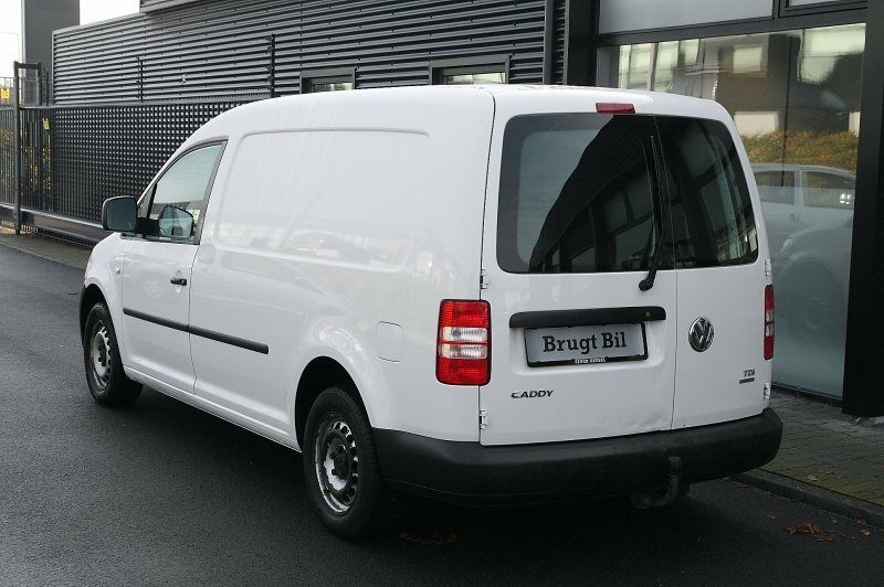 VW Caddy Maxi 1,6 TDi 102 BMT Van Diesel modelår 2013 Hvid km