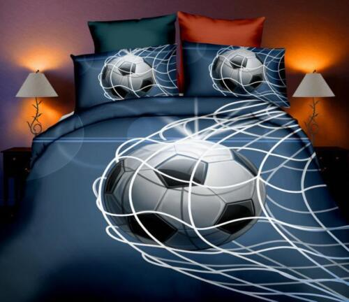 Printed 3D Luxury Duvet Covers Quilt Cover Bedding Sets football rugby basket