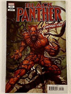Black Panther #14 Brown Carnage-ized Variant  7//31//19 NM