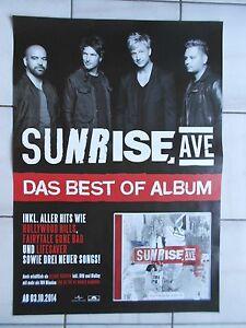 Plakat Sunrise Neu concert Promo Avenue PosterKonzert A1 Orig 2014 8NvwO0mn