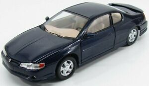 SUN-STAR 1/18 CHEVROLET | MONTE CARLO SS COUPE 2000 | NAVY BLUE MET