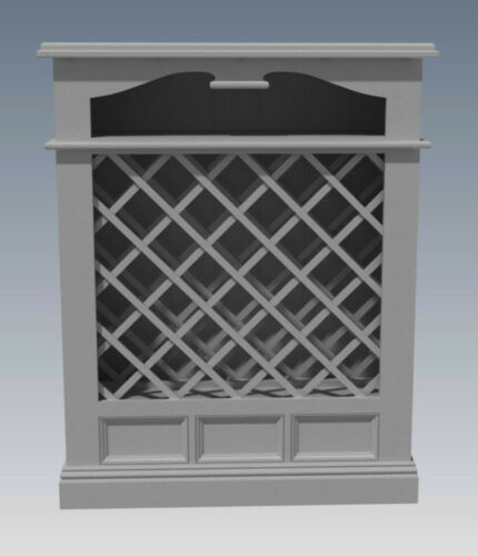 Full Plans 2d /& 3D Make Your Own /& SAVE $ SOLID TIMBER WINE RACK DRAWERS
