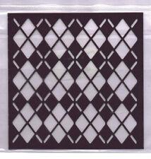 Plastica/PVC/Goffratura/Stencil/ARGILE/Diamante/484.142.016