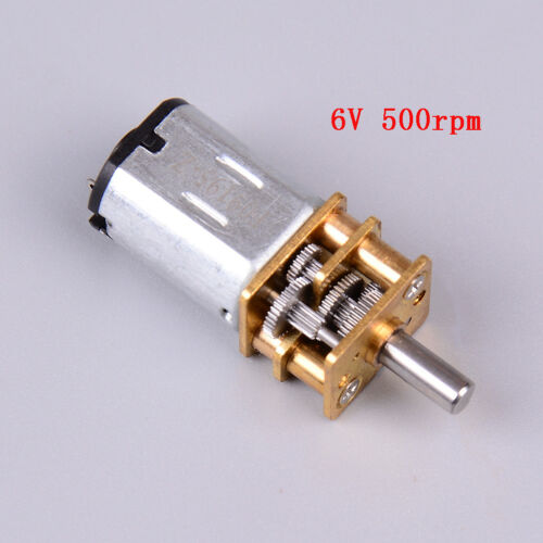 6V500RPM moZJP Dauerhafter Mikroverzögerungsgetriebe-MotorGA12-N20DC 3V30RPM