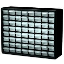 Small Parts Storage Cabinet Drawer Bin Organizer Box 64 Drawers Metal Craft