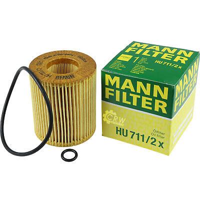Original MANN-FILTER Ölfilter Oelfilter HU 711//2 x Oil Filter