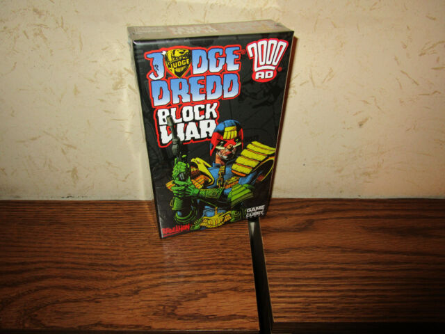 Game and a Curry- Judge Dredd: Block War Game