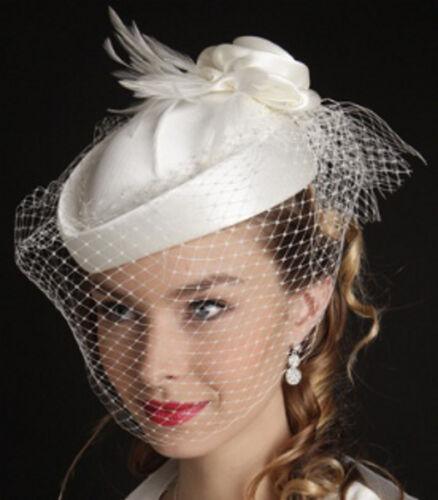 avec voile, mariage bibi femme warbler modèle de crinoligne cérémonie Chapeau