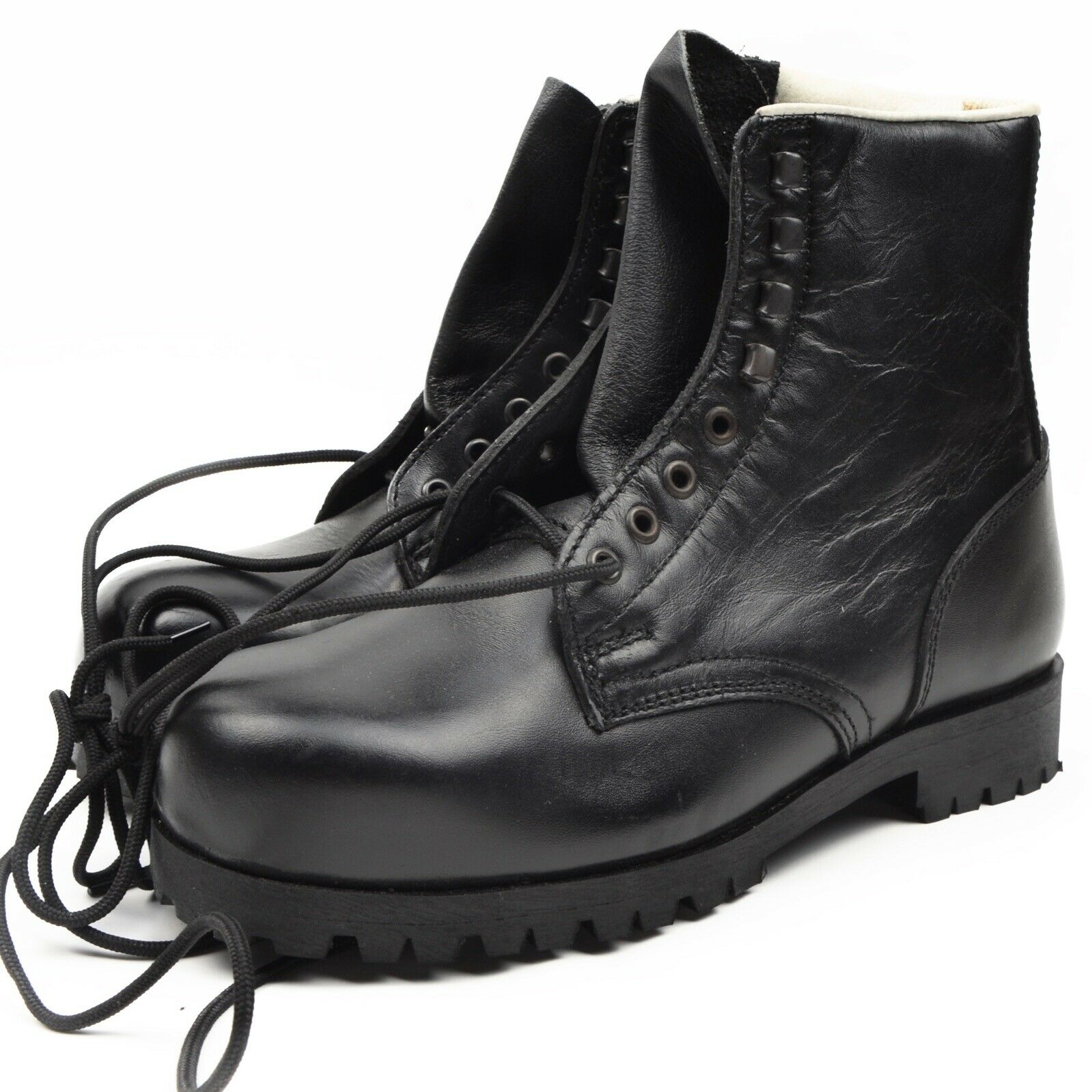 Rukapol botas botas Stahlkappe Steel Toe Gr 41 Ungetragen negro Sicherheit