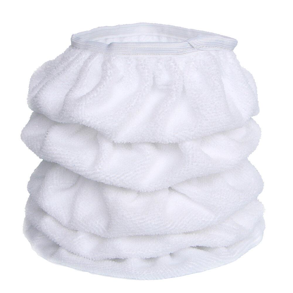 Car Polisher Bonnet Buffing Pad Cover Soft Wool for Car Polishing White