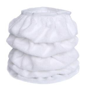 5PCS-5-6-034-150mm-White-Cotton-Car-Buffing-Pads-Wax-Polisher-Bonnet-Buffer-Covers