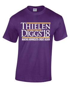 the best attitude a549e 56679 Details about Adam Thielen Stefon Diggs Minnesota Vikings