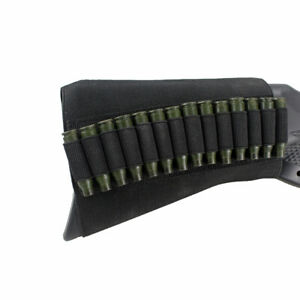 Tactical-9-14-Round-Rifle-Ammo-Carrier-Holder-ButtStock-Cartridge-Pouch