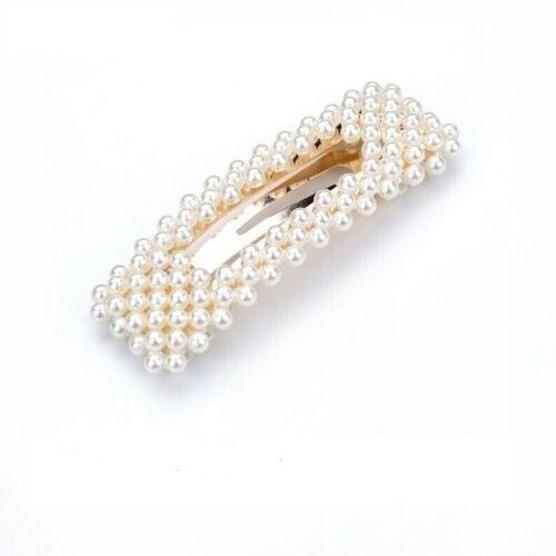 Pearl Word Slogan Hair Clip Slide Barrette Bridal Hair Accessory Large Oversized