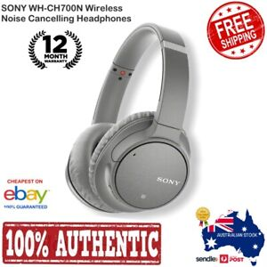 NEW-Sony-WH-CH700N-Wireless-Noise-Cancelling-Headphones-GREY