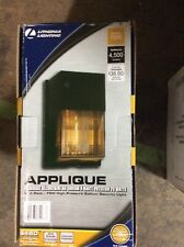 Outdoor Bronze High Pressure Sodium Wall Pack 70-Watt Security Light Patio