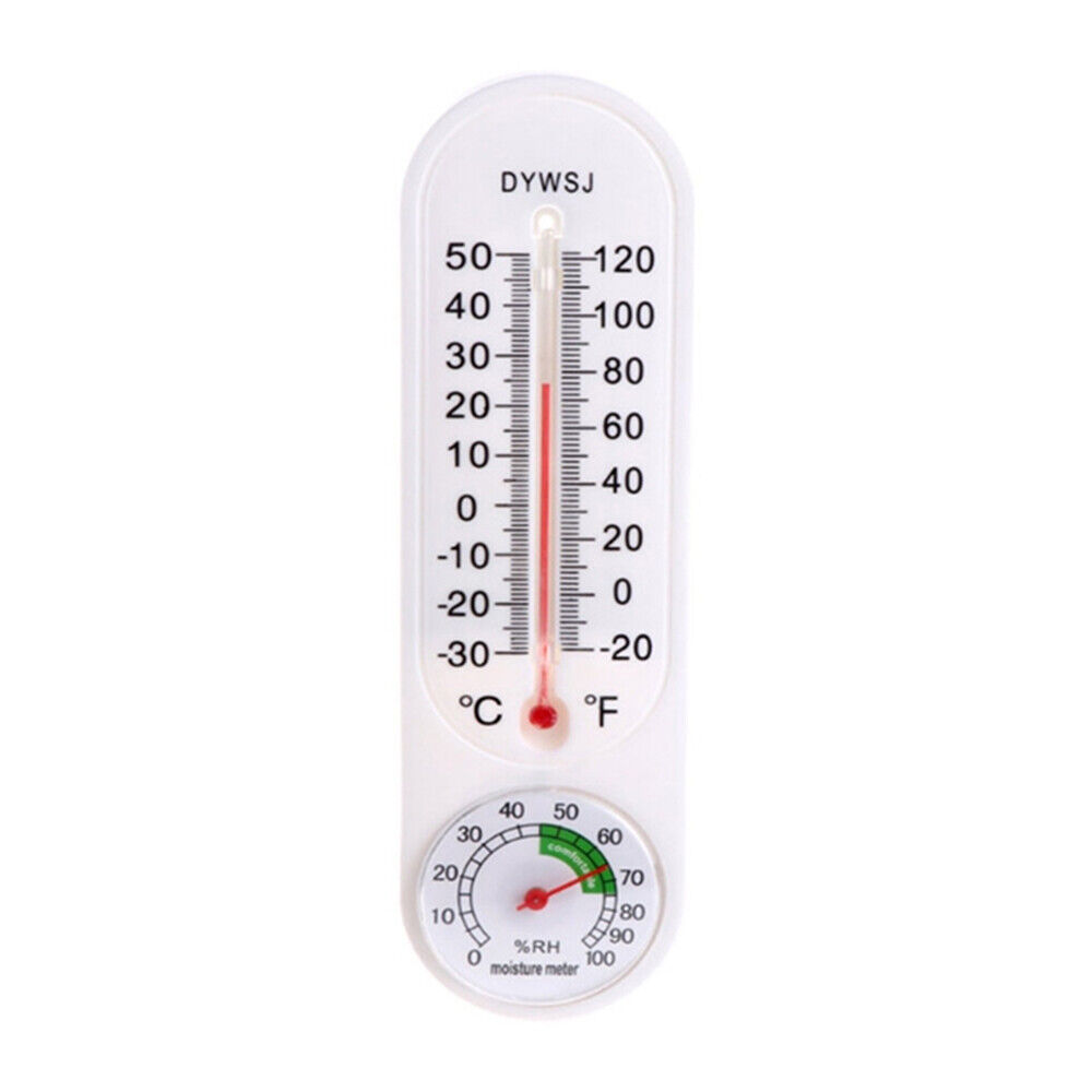 Indoor Vertical Hygrometer Wall-mounted Household Greenhouse A5R0