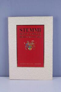 Stemmi-delle-famiglie-bergamasche-editrice-sesaab-Bergamo-1994-illustrazioni