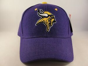 Image is loading Minnesota-Vikings-NFL-Reebok-Adjustable-Strap-Hat-Cap- 5b54e6c8e50f