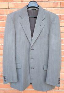 LORD-HASHFORT-Abito-completo-uomo-giacca-pantalone-Pura-Lana-Vergine-grigio-48