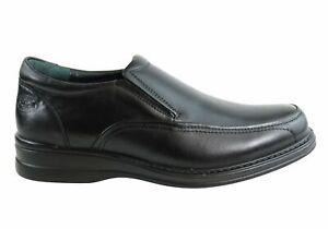 Brand-New-Scholl-Orthaheel-Belmont-Mens-Black-Comfort-Slip-On-Dress-Shoes