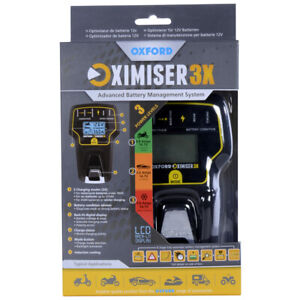 Oxford-Oximiser-3X-Motorcycle-Car-Essential-Battery-Charger-Optimiser-EL200