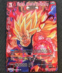 Agent de la Destruction BT6-120 DR//VF Vegeta Dragon Ball Super Card Game