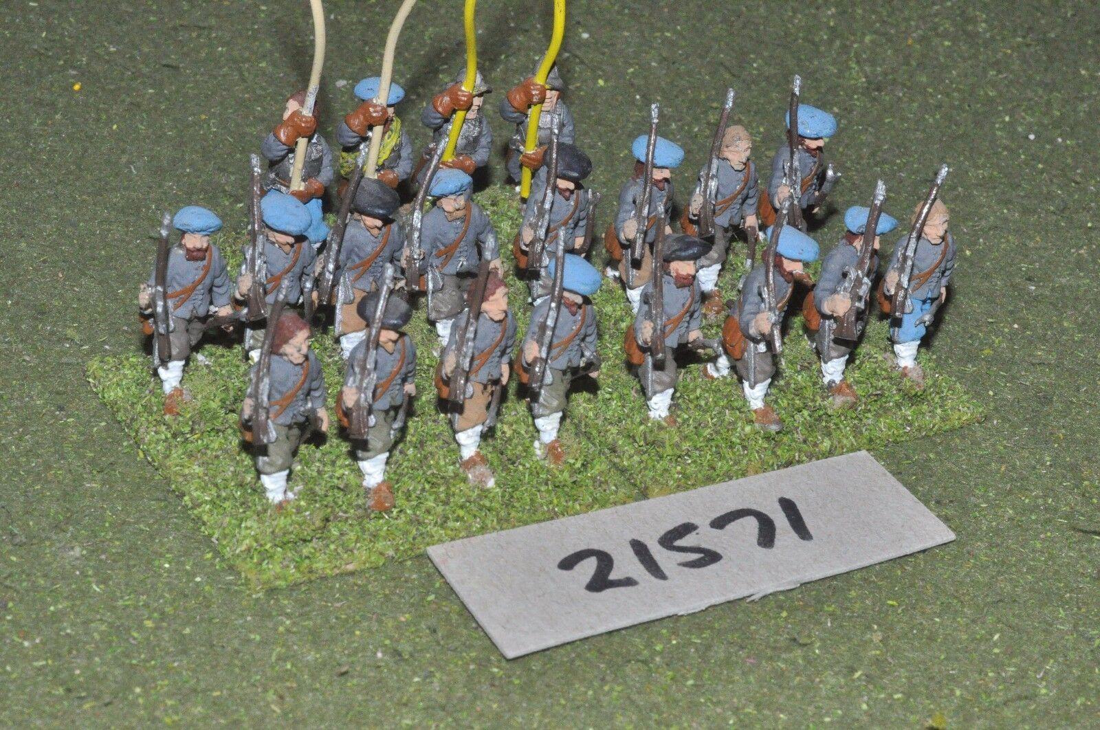 25mm ECW   scottish - civil war scots 20 pike & shot infantry - inf (21571)