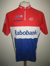 Rabobank MOERENHOUT Holland rare jersey shirt cycling wielershirt size XL