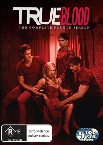 1 of 1 - True Blood : Season 4 (DVD, 2012, 5-Disc Set)