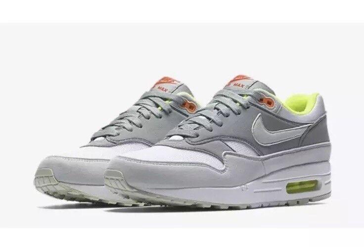 NEW Sz Sz Sz 6.5 Women's Nike Air Max 1 Running shoes White Barely Grey 319986-107 c74e3c