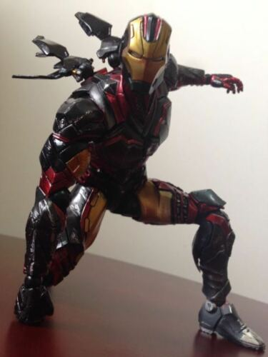 "11/"" Square Enix Play Arts Kai Marvel Comics Iron Man Action Figure no box"