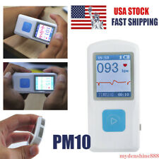 Pm10 Portable Handheld Mini Ecg Machine Heart Beat Monitor Usb Bluetooth Home