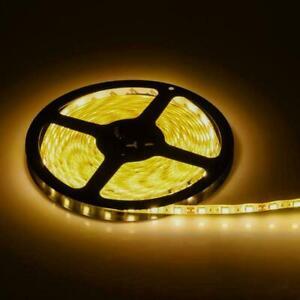 LED-Light-Strip-Warm-White-5050-60-Beads-12v-Epoxy-Waterproof-Light-with-US-PLUG