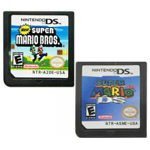 New Super Mario Bros + Super Mario 64 DS Game Card for Nintendo NDSL DSI DS 3DS