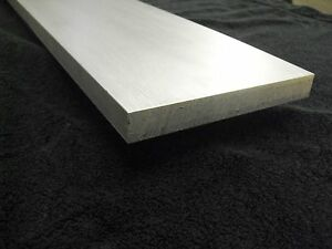 """3/8"""" x 8"""" x 18"""" long AL Aluminum Flat Bar Sheet Plate 6061 Mill Finish"""