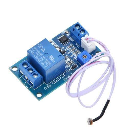 XH-M131 5V 12V Light Control Switch Detection Sensors Photoresistor Relay Module